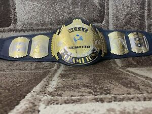 NEW WWF Classic Gold Winged Eagle DUAL PLATED Championship Belt Adult Size.2mm