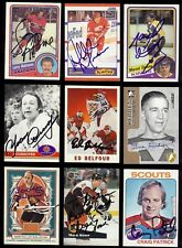 MARK HOWE 1991-92 ProSet Philadelphia Flyers  Hockey Card SIGNED / AUTOGRAPH