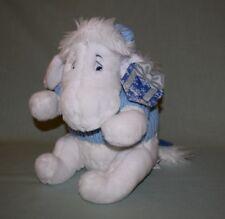 "Plush Disney Store White Eeyore Blue Sweater Snowflake 12"""