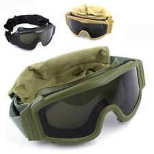 Tactical Goggles Military Shooting Sunglasses Airsoft Paintball Eye Protective