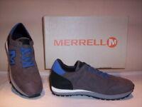 Merrell Vintage Runner scarpe sportive sneakers casual uomo pelle camoscio 42 43