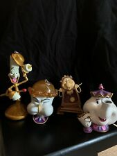 New ListingDisney Lumiere Chip Mrs Potts Cogsworth Beauty And The Beast Ornament