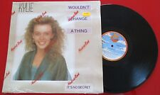 """KYLIE MINOGUE """"Wouldn't Change A Thing"""" SPAIN 12"""" Single 1989 ON SANNI RECORDS"""