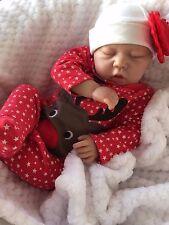 """Muñeca Reborn Bebé Niña Scarlett realista 20"""" Real realista chupa su dedo pulgar!"""