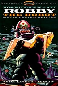 Miniature 1:12 scale Orig. Forbidden Planet Robby Robot Dollhouse EMPTY TOY BOX