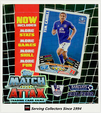 1 BOX OF 2011-12 Topps Match Attax Soccer Trading Card Booster Box (24 Packs)