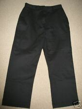 NEW Faded Glory BLACK Stretch CROP capri DRESS pants 4