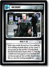 Star Trek CCG TwT Trouble with Tribbles Make It So (Incident) 26R x2