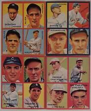 1935 GOUDEY BASEBALL CARD  REPRINT SET