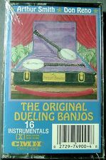 Smith & Reno:  Original Dueling Banjos (Cassette, 1994, CMH Records) NEW