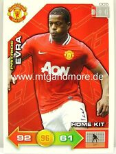 Adrenalyn XL Manchester United 11/12 - #005 Patrice Evra - Home Kit