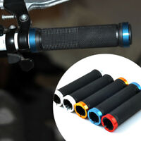 1 Pair Double Lock On Locking Mountain BMX Bike Bicycle Handle Bar Grips Utility