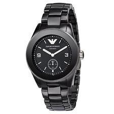 Emporio Armani Uhr AR1422 CERAMICA Keramik Schwarz Damen Armbanduhr Quarz NEU