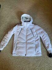 $1299! Men's KJUS Downforce DOWN Insulated Ski Jacket White Size 50 / 40 M