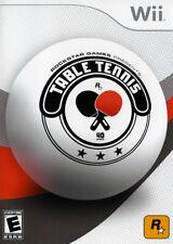 Rockstar Games Table Tennis WII New Nintendo Wii
