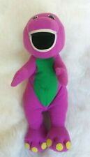 Vintage BARNEY Talking Plush 1992 Playskool Hasbro Toy WORKS #71245 18""