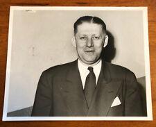 Vintage NCAA Basketball Photo 1948 Oklahoma A&M Coach Henry Iba Oklahoma State