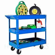 G4RCE Strong Tool Trolley Shelf Workshop Utility Garage Equipment Wheel Cart DIY