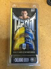Tapout Adult Mouthguard Ages +12 Yellow/Navy