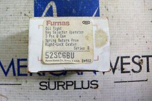 FURNAS 52SC6BU OILTIGHT KEY SELECTOR OPERATOR 3POS B CAM SER B