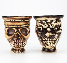 Ceramic bowl Skull Hookah Tobacco Bowl Shisha Holder Head Accessories