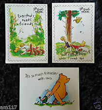 3 Winnie the Pooh Colour Classic Disney Prints Piglet Christopher Eeyore Robin