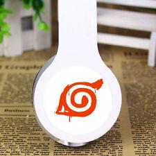 Anime NARUTO Konoha earphone stereo headband headphone MP3 phone pc sport music