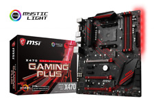 MSI X470 Gaming Plus ATX Motherboard for AMD Socket Am4 Processors