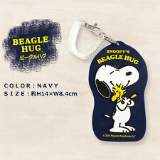 Peanuts Gang Snoopy Luggage Tag - Snoopy's Beagle Hug Navy