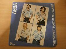 "45T SP 7"" vinyl - ABBA - THE WINNER TAKES IT ALL / ELAINE - réf DR"