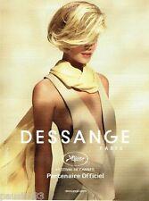 PUBLICITE ADVERTISING 106  2012  Jacques Dessange coiffeur fetival de Cannes