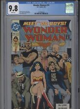 WONDER WOMAN #74 MT 9.8 CGC WHITE PAGES BOLLAND COVER MODER ART LOEBS STORY