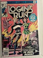 LOGANS RUN 6 F/VF 1977 1ST SOLO THANOS STORY ( BACK UP STORY )  CGC IT!! HOT!!!!