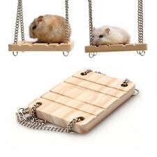 Poppled Hanging Mouse Rat Hamster Swing Rectangle Shape Suspension Chain Bell