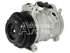 New A/C Compressor Fits: 2007 - 2009  Jeep Grand Cherokee V6 3.0L Turbocharged D