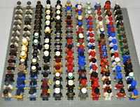 Lego Figuren 18x korrekt zusammengesetzt inkl. Kopfbedeckung Berufe City Town