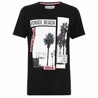 UCLA Crew T Shirt Mens Gents Neck Tee Top Short Sleeve Lightweight Cotton