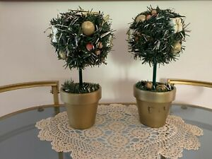 CHRISTMAS DECORATIONS TABLE DECORATIONS TABLEWARE PARTY TOPIARY #1 FRANKSTON