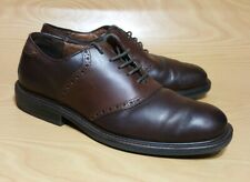 Florsheim @easy Saddle Oxfords Brown Leather Mens Shoes 11 M