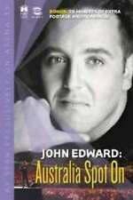 John Edward : Australia Spot On DVD Psychic Medium 2003 RARE HARD TO FIND OOP