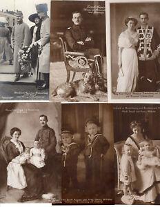 Lot 6 AK: Prinzessin Viktoria Luise von Preußen, Herzog Ernst August, Kinder