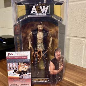 AEW Jon Moxley Signed Autographed Unrivaled Series 2 Figure w/ JSA COA & Case