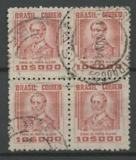 No: 78697 - UK - BRAZIL - AN OLD BLOCK OF 4 - USED!!
