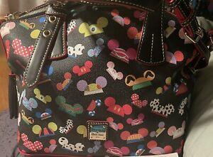 NWOT Disney Dooney & Bourke Mickey I Am Ear Hat Satchel