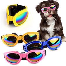 KE_ Adjustable Pet Dog UV Sunglasses Sun Glasses Goggles Eye Wear For Puppy Su