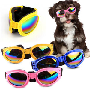 AU_ FP- KE_ Adjustable Pet Dog UV Sunglasses Sun Glasses Goggles Eye Wear For Pu