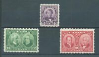 Canada 1927 Historical sg.271-3 MH set of 3