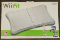 EUC Nintendo Wii Fit Bundle Game and Balance Board (2009) In Box