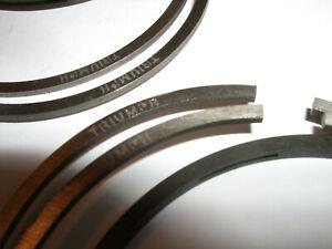 """z """"TRIUMPH"""" """"LOGO"""" 650 NOS Rings set Std for 6T, T110,TR6,T120 @ 71mm  €FB FEB21"""
