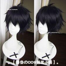 NEW Seraph of the End Yūichirō Yuichiro Hyakuya Wig Anime Black wig Cosplay